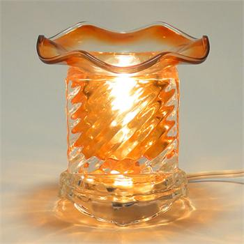 Small Crystal Glass Oil Warmer
