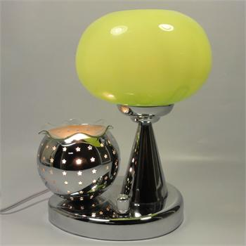 Table Lamp With Electric Oil Warmer