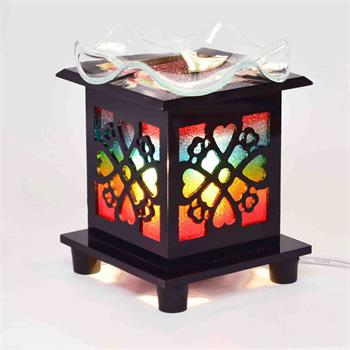 Acrylic Sculpture Wired Control Oil Warmer