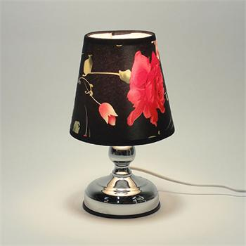 Amplic touch lamp oil warmer fabric lamp shade warmer aloadofball Image collections
